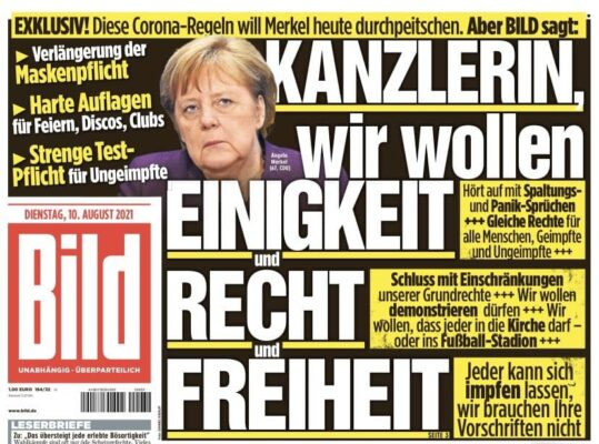 Merkel will Corona-Regeln durchpeitschen